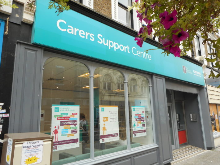 outside of Carers Support Centre