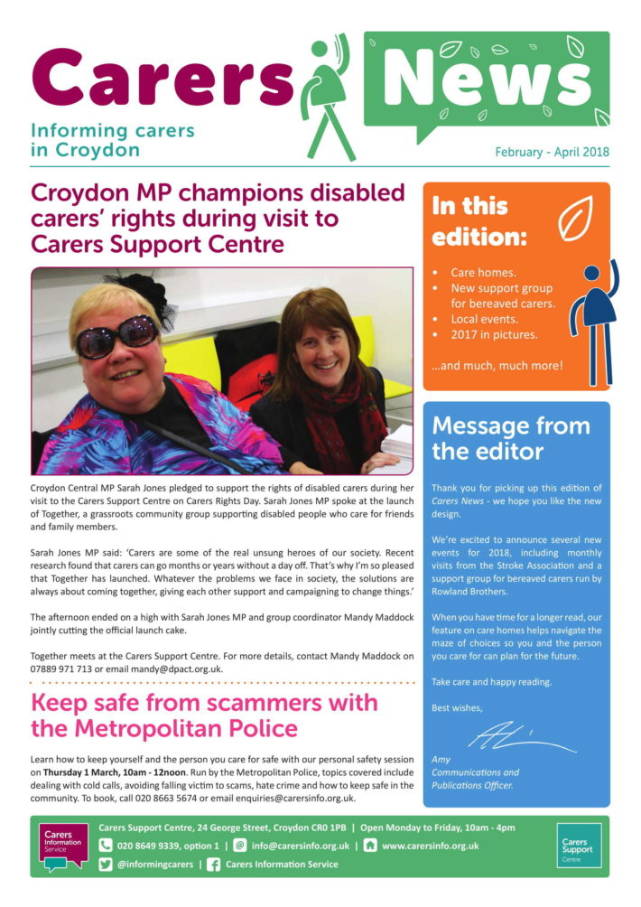 carers new front cover