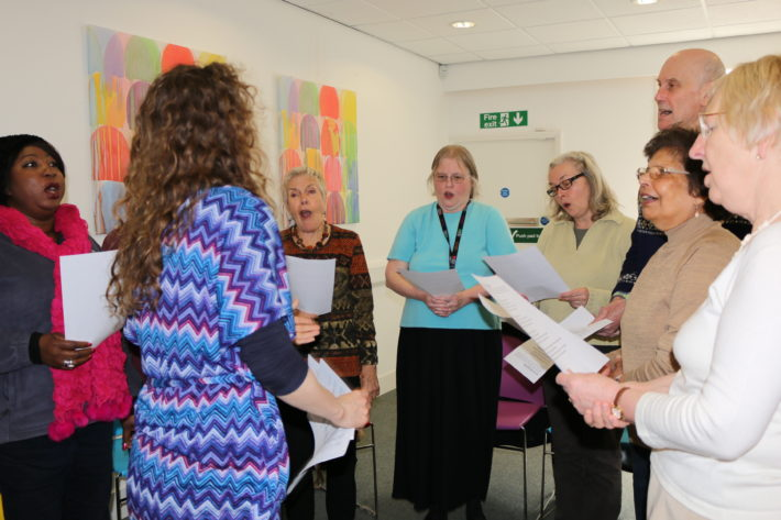 carers singing group