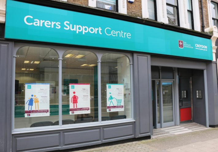 carers support centre exterior