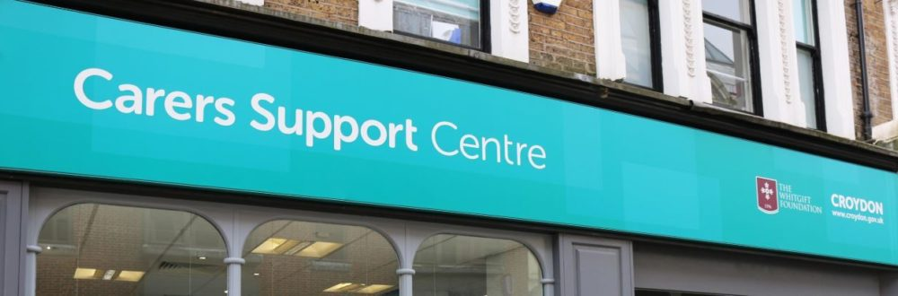 Carers Support Centre sign