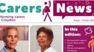 August to October 2018 Carers News is now out!